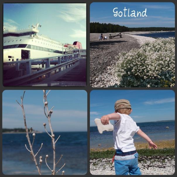 Gotland collage